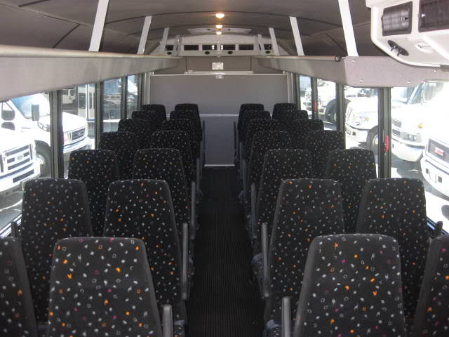 Large Bus Interior sunshineshuttle - Contact Us